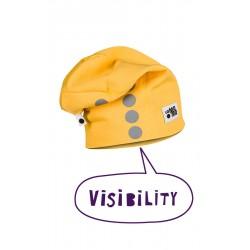 Helkuritega beanie müts, kollane