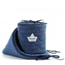 Voodipehmendus, velvet, harvard blue