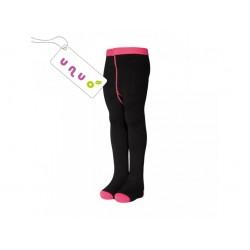 Laste bambus sukkpüksid, must/roosa