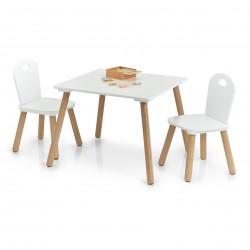 """Laste komplekt """"Scandi"""", laud ja 2 tooli"""