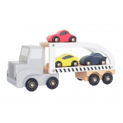 Sportauto transporter, puidust