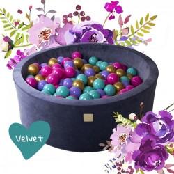 Pallimeri Flower, velvet, 250 palli