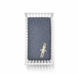 Kummiga voodilina 70x140, stars