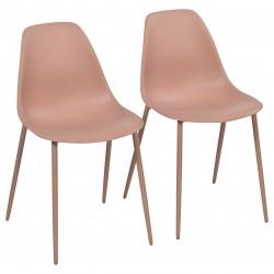 Laste toolid, 2 tk, roosa