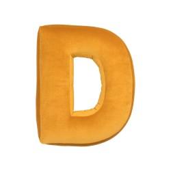 Velvet täht D kollane