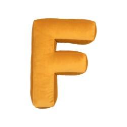 Velvet täht F kollane