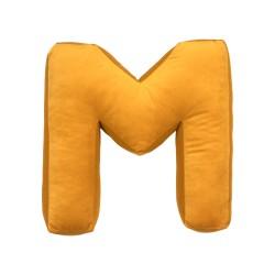 Velvet täht M kollane