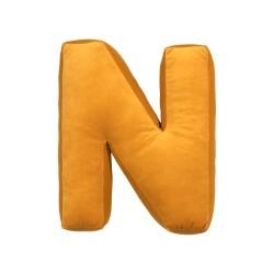 Velvet täht N kollane