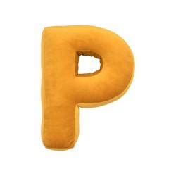 Velvet täht P kollane