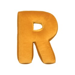Velvet täht R kollane