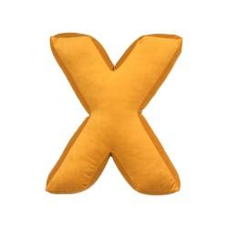 Velvet täht X kollane