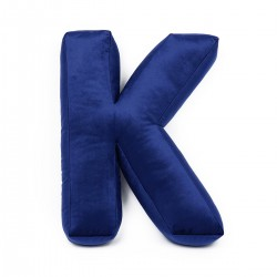 Velvet täht K sinine
