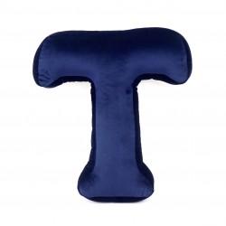 Velvet täht T sinine