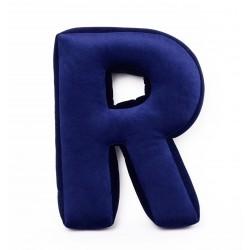 Velvet täht R sinine
