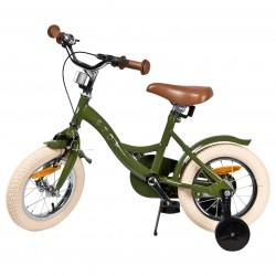"Jalgratas Vintage 12"" abiratastega , tumeroheline"