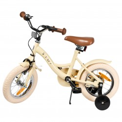 """Jalgratas Vintage 12"""" abiratastega , kreem"""