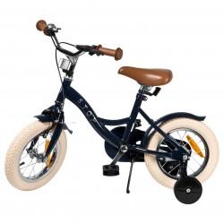 """Jalgratas Vintage 12"""" abiratastega , tumesinine"""