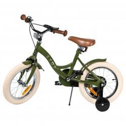 "Jalgratas Vintage 14"" abiratastega , tumeroheline"