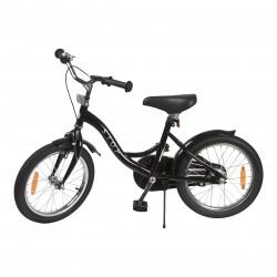 """Jalgratas Classic 16"""" abiratastega , must"""