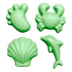 Scrunch liivavormid, pastell roheline