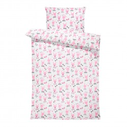 Bambus/puuvill voodipesukomplekt, jänkud