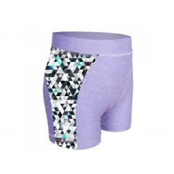 Laste lühikesed püksid, UV 50+, hall/metricon boy