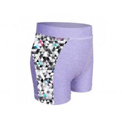 Laste lühikesed püksid, UV 50+, hall/metricon girl