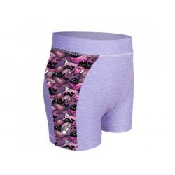 Laste lühikesed püksid, UV 50+, hall/whale girl