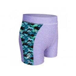 Laste lühikesed püksid, UV 50+, hall/whale boy