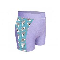 Laste lühikesed püksid, UV 50+, hall/sharks