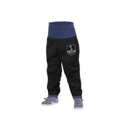 Õhukesed püksid ilma voodrita väikelastele, must