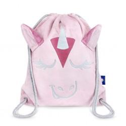 Laste seljakott, roosa ükssarvik