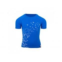 Bambus T-särk, sinine