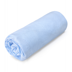 Kummiga voodilina, sinine