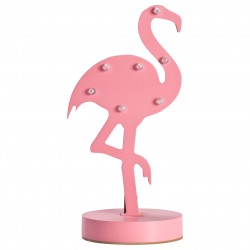 LED laualamp Flamingo