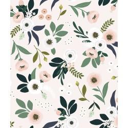 Fliistapeet lilled/roosa