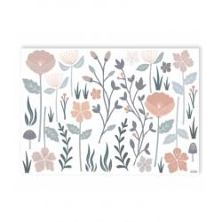 XL seinakleebis lilled