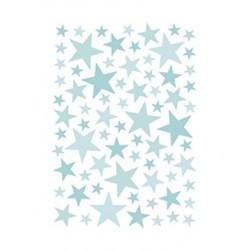 Seinakleebised Stars, 74 tk, mint