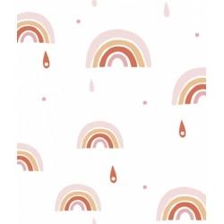 Fliistapeet Rainbow, roosa