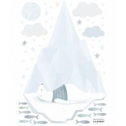 """Seinakleebis """"Arctic"""" jäämägi karuga"""