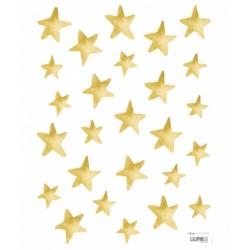 Seinakleebis kuldsed tähekesed 26 tk