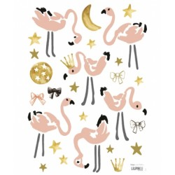Seinakleebis flamingod