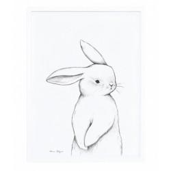 """Lastetoa pilt """"Jänes"""", 30x40 cm"""