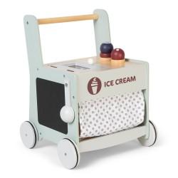Puidust jäätisekäru