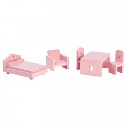 Nukumaja mööbel, roosa