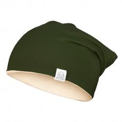 Müts, bambus, roheline-beež