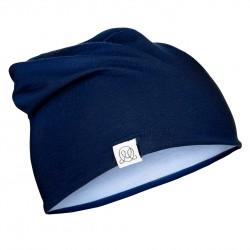 Müts, bambus, navy-helesinine