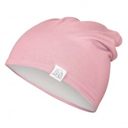 Müts, bambus, roosa-helehall