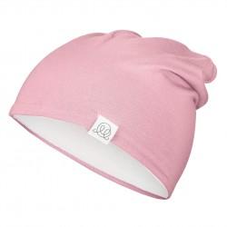 Müts, bambus, roosa-valge