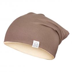 Müts, bambus, beež-pruun